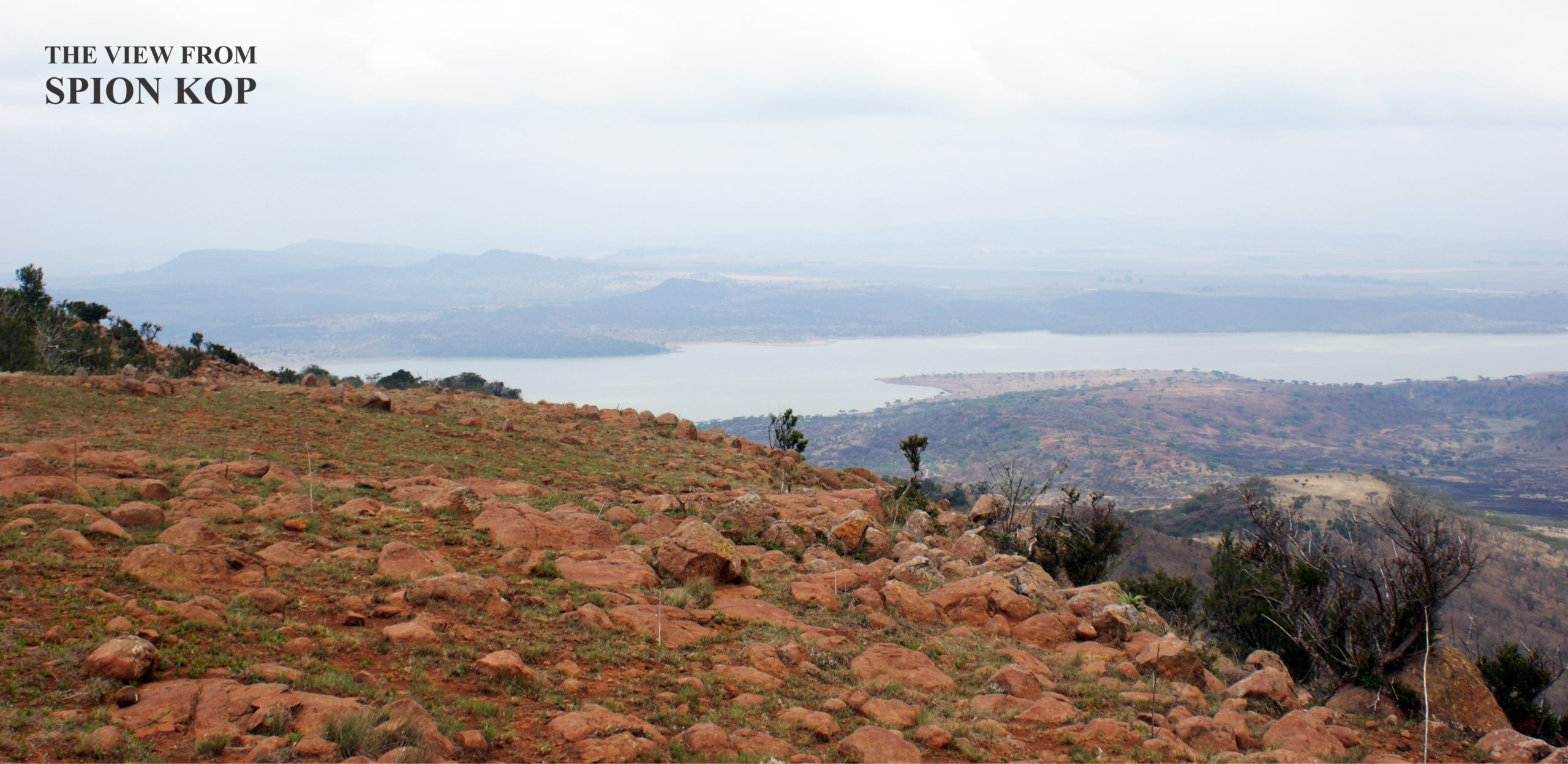 The view from SPION KOP